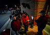 Nearly 1500 people wait in line at the Target in Keene, N.H., on Thursday, Nov. 24, 2016 for the store to open at 6 p.m. for Black Friday sales. Kristopher Radder / Reformer Staff