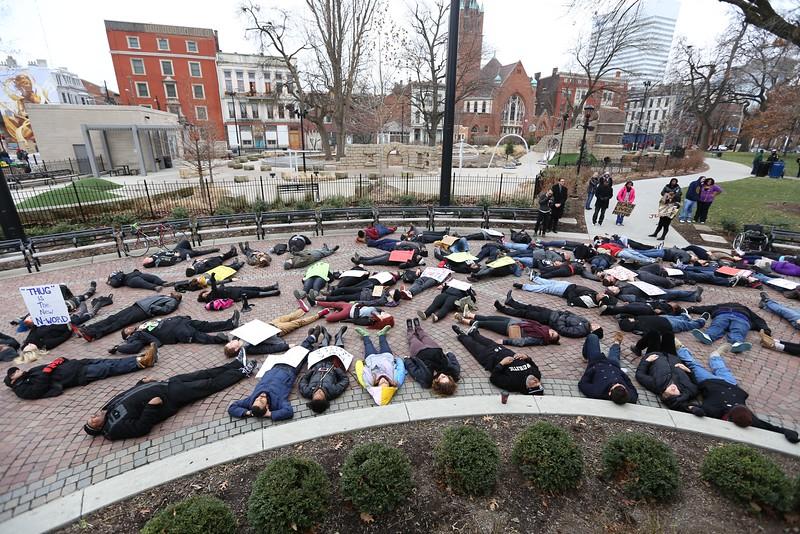 Black Lives Matter Rally Downtown Cincinnati