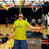 "Jeff Lutkus, of Boulder, juggles three bowling pins while balancing one on his forehead on Sunday, Dec. 18, at the Boulder Circus Center on N. 26th Avenue in Boulder. For more photos of the Circus Center go to  <a href=""http://www.dailycamera.com"">http://www.dailycamera.com</a><br /> Jeremy Papasso/ Camera"