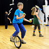 "Curtis Peterson, rides a unicycle while he tries to juggle on Sunday, Dec. 18, at the Boulder Circus Center on N. 26th Avenue in Boulder. For more photos of the Circus Center go to  <a href=""http://www.dailycamera.com"">http://www.dailycamera.com</a><br /> Jeremy Papasso/ Camera"