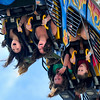 "CREEKFEST<br /> Riders get their thrills on the Fire Ball ride, including Christine Choi, left, and Autumn Keller, in the front row, at the Boulder Creek Festival on Sunday. For more photos from the festival, see  <a href=""http://www.dailycamera.com"">http://www.dailycamera.com</a>.<br /> <br /> Photo by Marty Caivano/May 29, 2011"