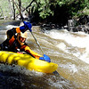 "Josh Tracy, visiting from Virginia, kayaks down Boulder Creek.<br /> There were several visitors to Boulder Creek and Eben Fine Park on June 8, 2011, but few actually got in the water.<br /> For a video and more photos of the creek, go to  <a href=""http://www.dailycamera.com"">http://www.dailycamera.com</a>.<br /> Cliff Grassmick / June 8, 2011"