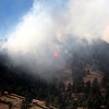 A tree goes up in flames during the Dome Fire in Boulder on Friday.<br /> Friday, Oct. 29, 2010. <br /> SAM HALL / Camera