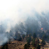 View of the Dome Fire west of Boulder on Friday, Oct. 29, 2010.<br /> Cameron Redwine/ Camera