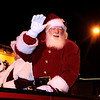 "Santa Clause waives to the crowd on Saturday, Dec. 3, during the Holiday Lights Parade in downtown Boulder. For more photos and video of the parade go to  <a href=""http://www.dailycamera.com"">http://www.dailycamera.com</a><br /> Photo by Jeremy Papasso"