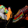 "Members of the dragon float march in the parade on Saturday, Dec. 3, during the Holiday Lights Parade in downtown Boulder. For more photos and video of the parade go to  <a href=""http://www.dailycamera.com"">http://www.dailycamera.com</a><br /> Photo by Jeremy Papasso"