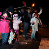 "Portia Richards, 4, and Mazzy Srom, 4, wave to Santa as he passes by them on Saturday, Dec. 3, during the Holiday Lights Parade in downtown Boulder. For more photos and video of the parade go to  <a href=""http://www.dailycamera.com"">http://www.dailycamera.com</a><br /> Photo by Jeremy Papasso"