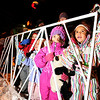 "Nailah McGhee, 5, right, and Echo Siglin, 5, middle, look in amazement as Santa passes by them on Saturday, Dec. 3, during the Holiday Lights Parade in downtown Boulder. For more photos and video of the parade go to  <a href=""http://www.dailycamera.com"">http://www.dailycamera.com</a><br /> Photo by Jeremy Papasso"