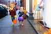KELLY FLETCHER, REFORMER CORRESPONDENT -- Brentley Paradee and Layla Paquette trick or treat on Elliot Street during BrattleBOO Halloween Festivities Thursday night.