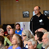 KRISTOPHER RADDER - BRATTLEBORO REFORMER<br /> Ralph Meima addresses the board during Brattleboro's Town Meeting Day on Saturday, March 24, 2018.