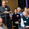 KRISTOPHER RADDER - BRATTLEBORO REFORMER<br /> Franz Reichsman nominates people for the finance board during Brattleboro's Town Meeting Day on Saturday, March 24, 2018.