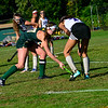 KRISTOPHER RADDER — BRATTLEBORO REFORMER<br /> Brattleboro host Burr and Burton during a field hockey game on Monday, Sept. 16, 2019.