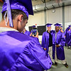 KRISTOPHER RADDER - BRATTLEBORO REFORMER<br /> Chris Hall takes a photo of Anthony Martinez and Jordan Wright before commencement at Brattleboro Union High School on Friday, June 16, 2017.