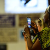 KRISTOPHER RADDER - BRATTLEBORO REFORMER<br /> Excited parents take video as the graduates enter the gymnasium during the commencement ceremony at Brattleboro Union High School on Friday, June 16, 2017.