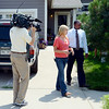 "Brittany Moore is interviewed by Channel 4 of Denver on Thursday.<br /> Attorneys with the Animal Law Center announced they have filed a lawsuit against the town of Erie and Erie police Officer Jamie Chester on behalf of Brittany Moore, whose dog was shot and killed by Chester in 2011<br /> For more photos and a video of Moore, go to  <a href=""http://www.dailycamera.com"">http://www.dailycamera.com</a>.<br /> Cliff Grassmick / July 5, 2012"