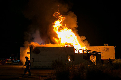 Broadway Structure Fire