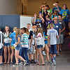 Freshmen tour the school  in their blue crew groups during the Blue Crew freshman orientation at Broomfield High School on Wednesday. <br />  August 15, 2012<br /> staff photo/ David R. Jennings