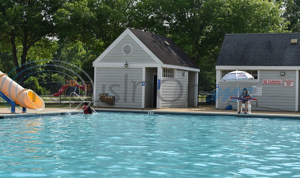 The Jacksonville City pool in Buckner Park opened for the summer on Tuesday, June 16. Special healthcare precautions and rules due to the coronavirus pandemic were posted at the pool's entrance.