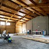 BEN GARVER — THE BERKSHIRE EAGLE<br /> With the Help of the Barnwell First Baptist Church Construction Ministry, this gymnasium will be become the Open Door Church in Lee