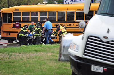 Bus crash vs Tractor Trailer Rt. 235 Hollywood 04/04/08