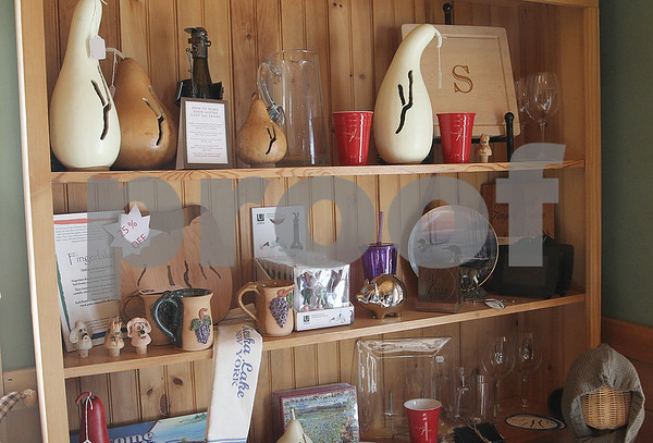 """""""We have a lot of Keuka items. I try to find either artists or different vendors that will customize for the Keuka name,"""" Carol said. """"That has kind of become my thing."""""""