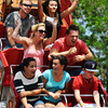 CreekfestKH_8.jpg Festival goers enjoy a ride on the Pirate Ship at the annual Boulder Creek Festival on Saturday, May 26, 2012. (Kira Horvath/Daily Camera)