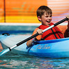 CreekfestKH_2.jpg Desmond Chandler, 8, tries out kayaking at the avid4adventure booth at the annual Boulder Creek Festival on Saturday, May 26, 2012. (Kira Horvath/Daily Camera)