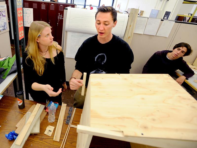 CU Environmental Design Students Make Bee Hives