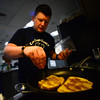 KRISTOPHER RADDER - BRATTLEBORO REFORMER<br /> Brattleboro Police Det. Ryan Washburn's will participate in the 3rd annual Can Cops Cook event at the 	American Legion this Saturday,