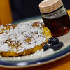 KRISTOPHER RADDER - BRATTLEBORO REFORMER<br /> Brattleboro Police Det. Ryan Washburn's finished French toast.