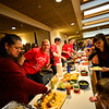KRISTOPHER RADDER — BRATTLEBORO REFORMER<br /> There was a large turnout for Safe Place Child Advocacy Center's 4th annual Can Cops Cook fundraiser at the American Legion, in Brattleboro, on Saturday, Jan. 26, 2019. Members of the Brattleboro Fire Department and different local law enforcement agencies cooked a variety of meals for people to sample.