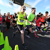 The Chilly Challenge 5K runners begin their trek following the sound of the starting gun Wednesday morning , Jan. 1, 2014, at the Joplin Family Y South.<br /> Globe | T. Rob Brown