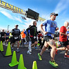 Runners begin the Chilly Challenge 5K run Wednesday morning , Jan. 1, 2014, at the Joplin Family Y South.<br /> Globe | T. Rob Brown