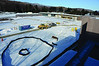 A view from the balcony of the Manton Reserach Center of construction at The Clark Art Institute on Thursday, Dec. 12, 2013. The Clark is set to reopen on July, 4, 2014. (Gillian Jones/North Adams Transcript)