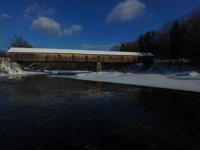 KRISTOPHER RADDER - BRATTLEBORO REFORMER<br /> The Dummerston Covered Bridge.