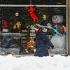 KRISTOPHER RADDER — BRATTLEBORO REFORMER<br /> Light snow falls as people walk on Main Street in Brattleboro after a snowstorm came through the region on Monday, Dec. 2, 2019.