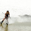 "Carolyn Brent, of Boulder, skims across the pond on her snow skis on Friday, July 1, at Arapahoe Basin Ski Resort in Summit County. For a video of the ski day go to  <a href=""http://www.dailycamera.com"">http://www.dailycamera.com</a><br /> Jeremy Papasso/ Camera"