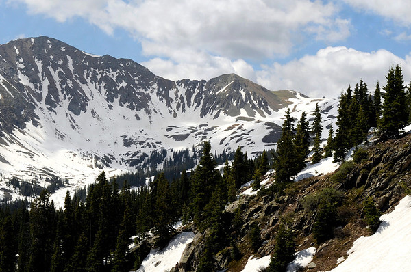 """Arapahoe Basin Ski Resort on Friday, July 1. For a video of the ski day go to  <a href=""""http://www.dailycamera.com"""">http://www.dailycamera.com</a><br /> Jeremy Papasso/ Camera"""
