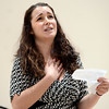 """Lanie Novack, of Longmont, auditions for the Colorado Shakespeare Festival on Friday, Jan. 18, at the Denver Performing Arts Tramway building in Denver. For more photos and video of the audition go to  <a href=""""http://www.dailycamera.com"""">http://www.dailycamera.com</a> Jeremy Papasso/ Camera"""