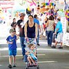 BEN GARVER — THE BERKSHIRE EAGLE<br /> Crowds gather to enjoy the Columbia County Fair, Labor Day in Chatham, New York.