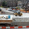 "The construction site at Broadway and Euclid seen  from the UMC on the CU campus.<br /> For a video and photos of the construction, go to  <a href=""http://www.dailycamera.com"">http://www.dailycamera.com</a>.<br /> Cliff Grassmick / April 5, 2012"