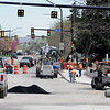 "The Broadway/Euclid construction site looking south on Broadway.<br /> For a video and photos of the construction, go to  <a href=""http://www.dailycamera.com"">http://www.dailycamera.com</a>.<br /> Cliff Grassmick / April 5, 2012"