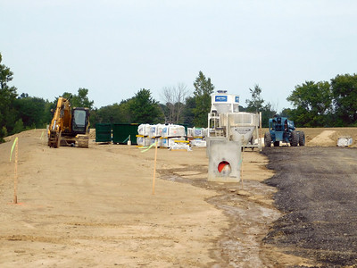 Construction on the new Lafayette Township fire station