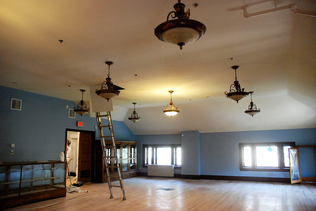 . Kayla Rice/Reformer                                 The newly renovated Rockingham Public Library in Bellows Falls.