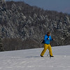 KRISTOPHER RADDER - BRATTLEBORO REFORMER<br /> People enjoy the fresh groom trails at the Brattleboro Country Club that is maintained by the Brattleboro Outing Club on Thursday, Jan. 18, 2018.