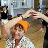 "Miriam Paisner, of Boulder, center, dances with latin dance instructor Adam Taub, also of Boulder, during Cuba Day on Saturday, July 23, at the Senior Center in the East Boulder Recreation Center on Sioux Drive in Boulder. For more photos of the game go to  <a href=""http://www.dailycamera.com"">http://www.dailycamera.com</a><br /> Jeremy Papasso/ Camera"