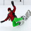 "Joseph Hammond, 12, of Portland, Ore., catches some air on his snowboard at Tantra Park in Boulder on Thursday, Dec. 22. For more photos of the storm go to  <a href=""http://www.dailycamera.com"">http://www.dailycamera.com</a><br /> Jeremy Papasso/ Camera"