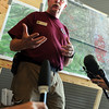 """Peter Anderson, an official from the command post, talks about mapping the fire.<br /> For  videos relating to the fire,  go to  <a href=""""http://www.dailycamera.com"""">http://www.dailycamera.com</a>.<br /> Cliff Grassmick / September 8, 2010"""