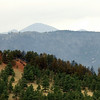 """A slurry bomber strike is seen on the side of a hlll as seen from Bristlecone Way at the top of Pine Brook Hills. <br /> Photos by Jeff Orlowski  <a href=""""http://www.jefforlowski.com"""">http://www.jefforlowski.com</a>"""