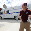 "Loren Wickstrom, of Durango, is in charge of logistics at the fire command center at the Boulder Reservoir.<br /> For  videos relating to the fire,  go to  <a href=""http://www.dailycamera.com"">http://www.dailycamera.com</a>.<br /> Cliff Grassmick / September 8, 2010"